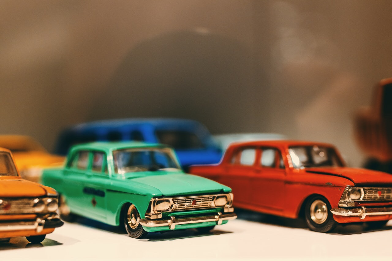 Diecast car collectibles