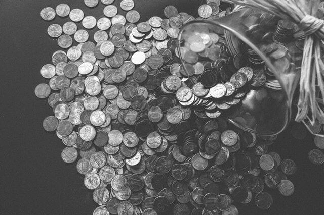 Saving change in a jar
